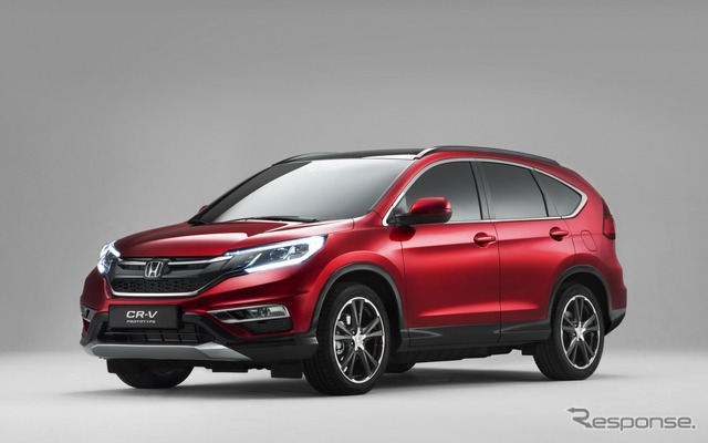 Honda CR-v improved new model (European spec)