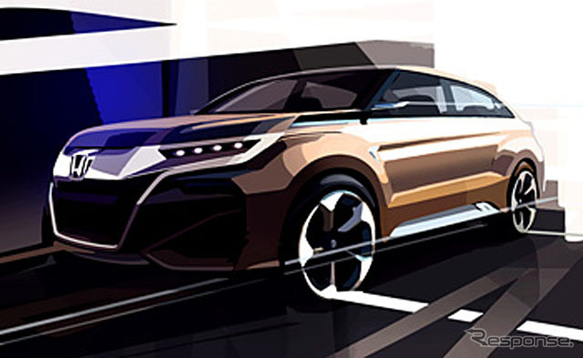 New SUV concept models for China (sketch design)