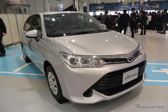 Toyota Motor newly improved Corolla presentation