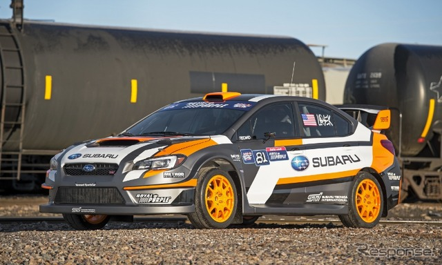Subaru WRX STI RallyCross car