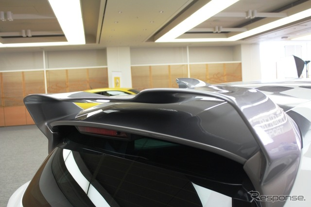Renault-lutecia RS Renault Japon original special parts fitted car (reference with decals of the)