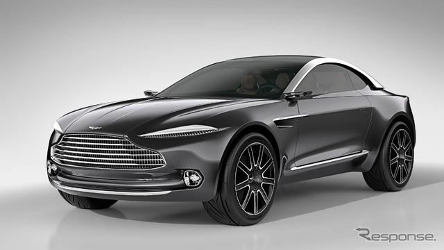 Aston Martin's first electric car concept 'DBX'