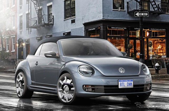 Dril de algodón de Volkswagen Beetle Cabrio