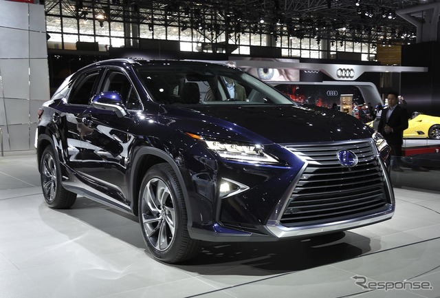New Lexus RX at 2015 New York Motor Show