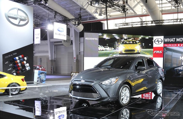 Scion iA at 2015 New York Motor Show