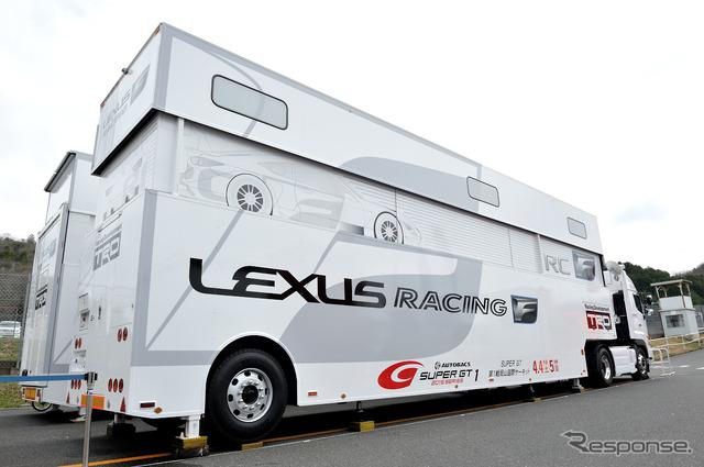 SUPER GT round-promo LEXUS/TRD
