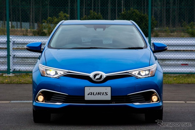The all-new & update Toyota Auris 120T