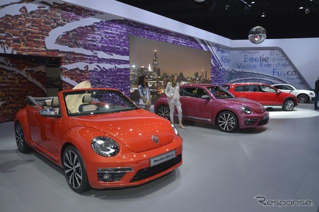 Coche de concepto del escarabajo de Volkswagen (Nueva York Motor Show 15)
