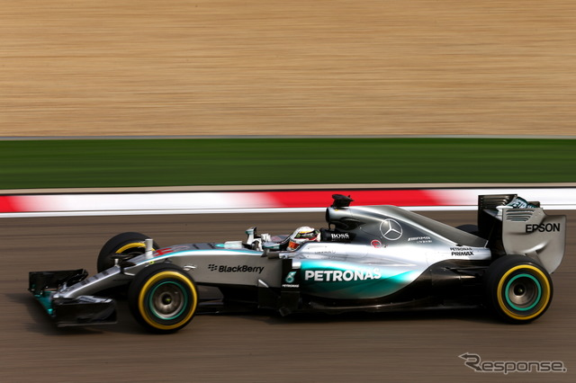 Top Lewis Hamilton's F1 China GP opening day