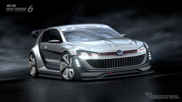 Volkswagen GTI, sport vision Gran Turismo