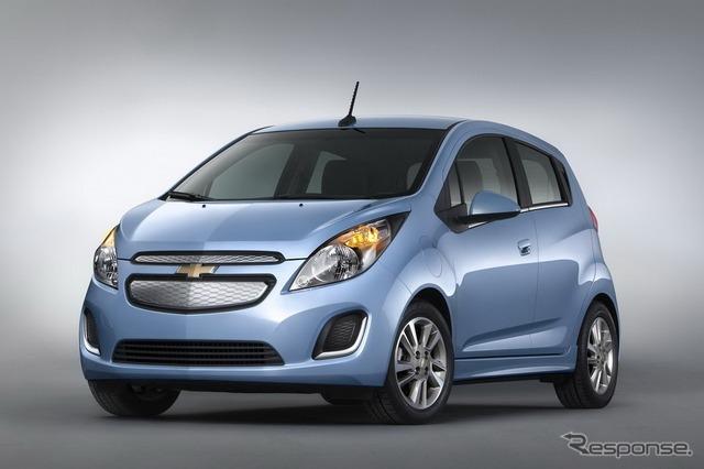 GM's Chevrolet spark EV