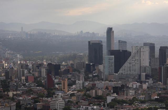 Mexico City (source image)