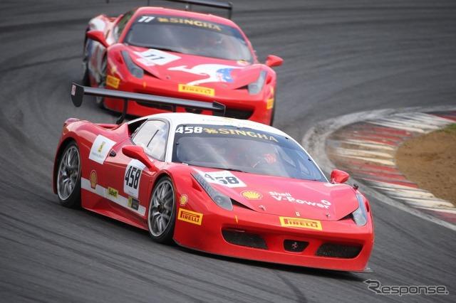 Ferrari racing days Fuji 2014