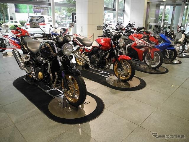 Honda HQ's showroom in Minami Aoyama, Tokyo (reference image)