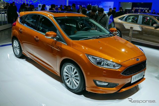 Ford focus improved new (Shanghai motor show 15)