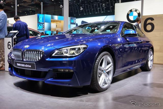 (Shanghai motor show 15) BMW 6 series new
