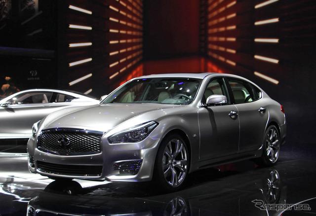 Infiniti Q70L Bespoke Edition at 2015 Shanghai Motor Show