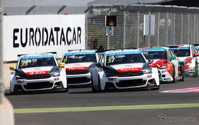 Citroen racing (WTCC round 2 Morocco)