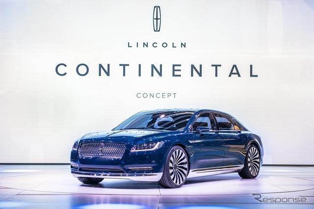 Concepto Lincoln Continental (salón del automóvil de Shanghai 15)