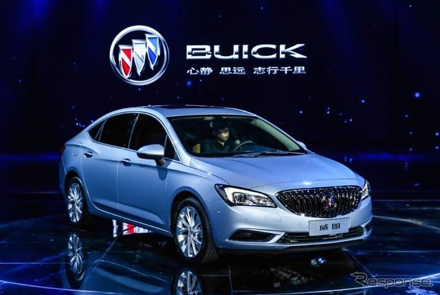 Buick Verano H1N1 (Shanghai motor show 15)