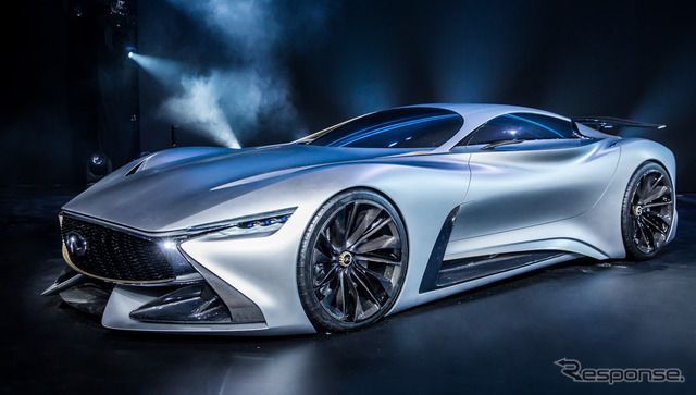 Infiniti Concept Vision Gran Turismo at 2015 Shanghai Motor Show preview event
