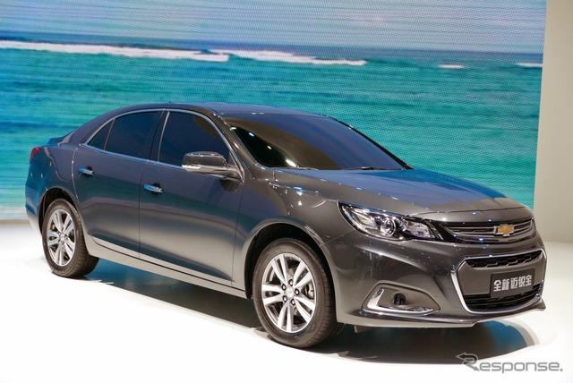New China-friendly Chevrolet Malibu (Shanghai motor show 15)