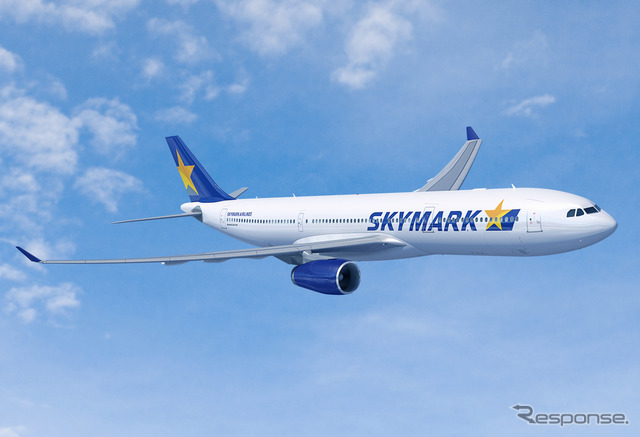 Skymark airlines A330-300 (the reference image)