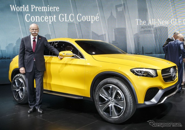 Mercedes-Benz concept GLC Coupe (Shanghai motor show 15)