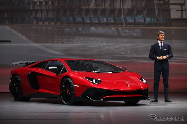 Lamborghini aventador LP 750-4 Super Veloce (Shanghai motor show 15)