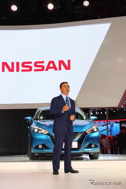 Nissan Chairman & CEO Carlos Ghosn (2015 Shanghai Motor Show)