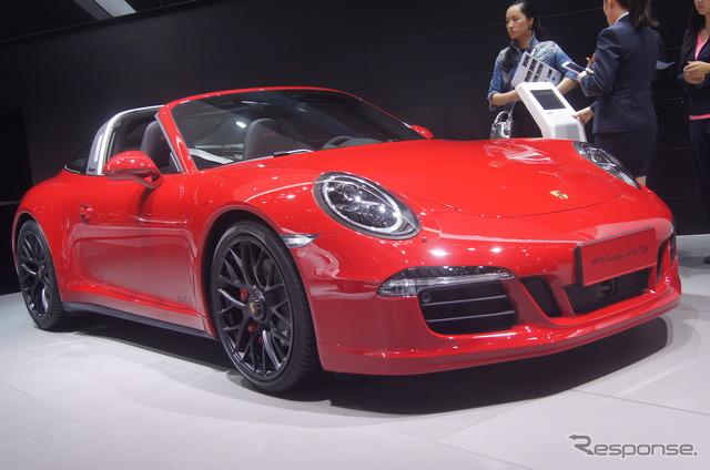 Porsche 911 Targa 4 GTS (Shanghai motor show 15)