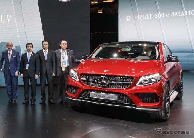 Mercedes-Benz GLE Coupe (Shanghai motor show 15)