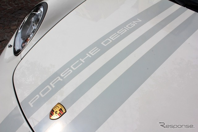 Porsche Boxster S (987-/ porschedesigndition 2) was introduced to service X