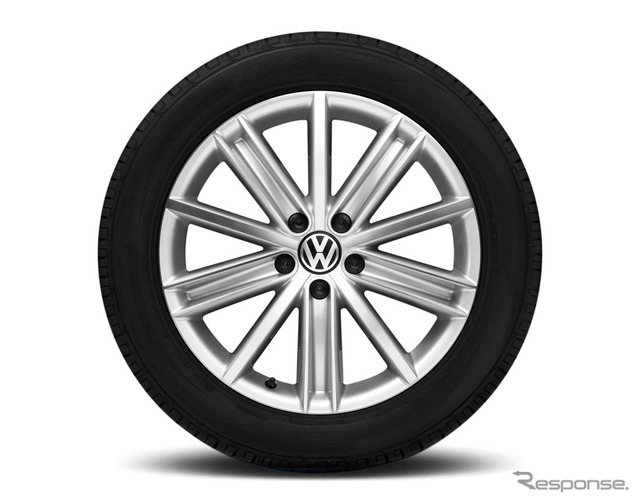 Exclusive 18-inch aluminum wheels (Tiguan)