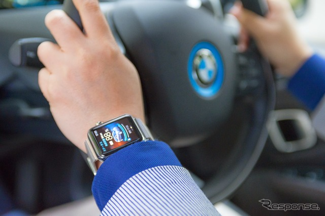 "Experience BMW ""i3"" Watch Apple apps ""BMW i remote"""