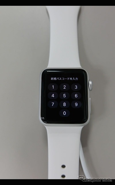 Input from Apple Watch