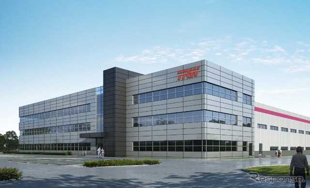 Rendering of TRW's Chinese plant