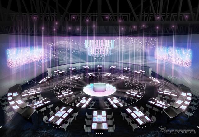 "Japan Pavilion ""Live Performance Theater"""