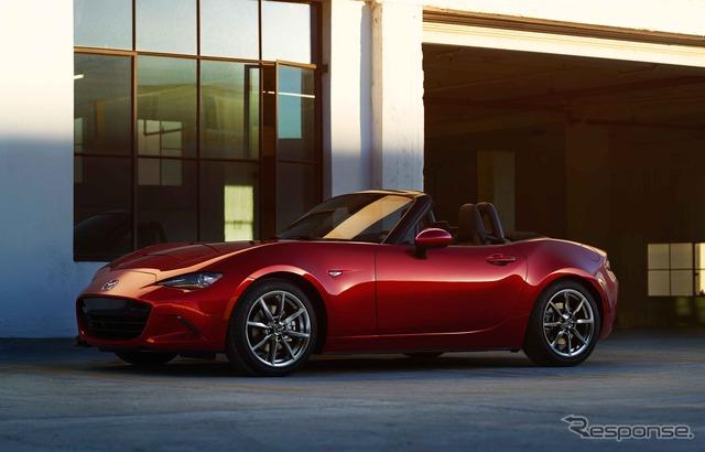 The all-new Mazda MX-5 Miata (North American model)