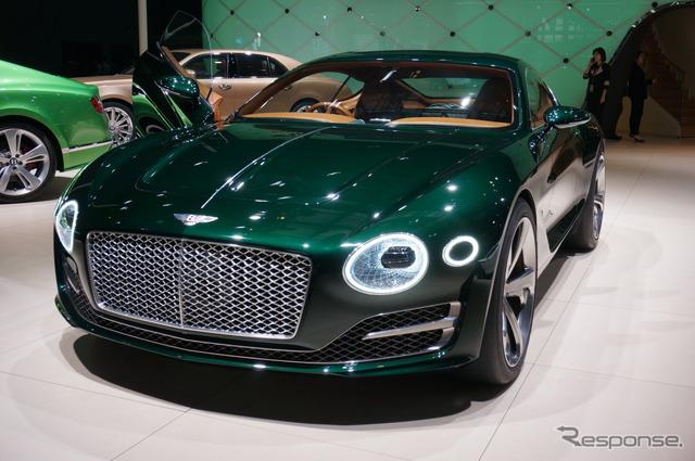 Bentley EXP10 speed 6 concept (Shanghai motor show 15)