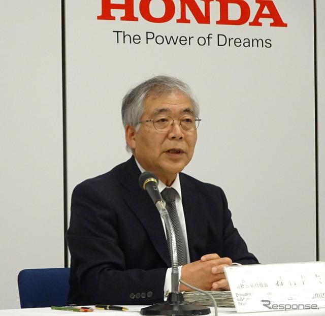 Honda Vice President Tetsuo Iwamura