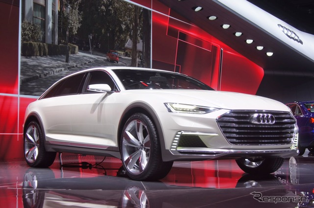 Audi prologue allowed (Shanghai motor show 15)