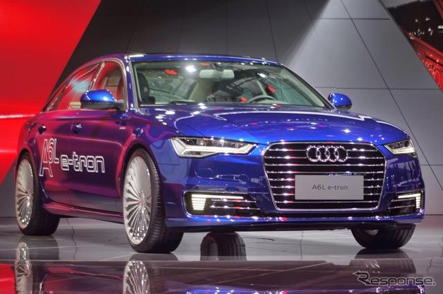Audi A6L e-Tron (Shanghai motor show 15)