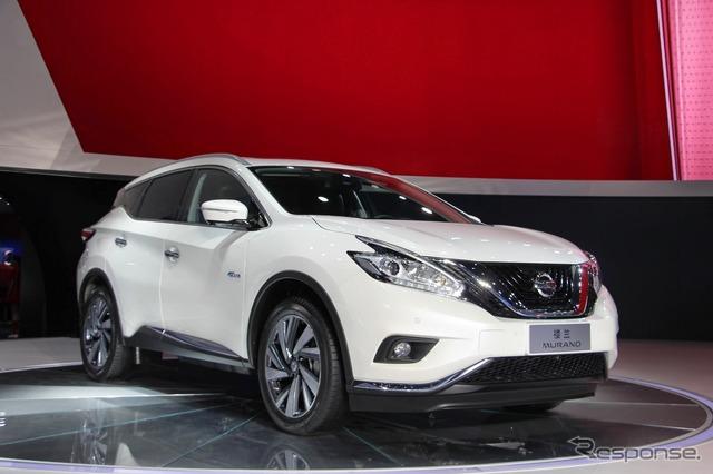 Nissan Murano Hybrid (2015 Shanghai Motor Show)