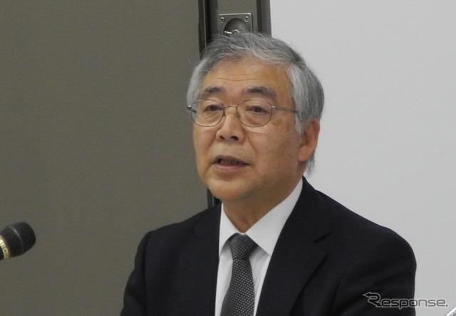 Vice President Tetsuo Honda rock village