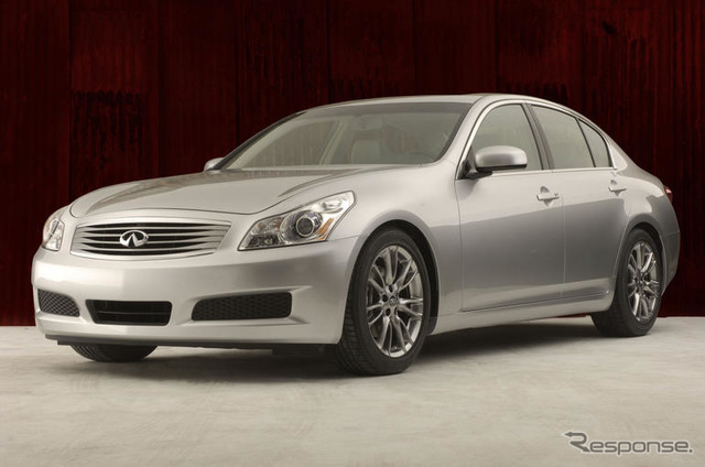 Japan Infiniti G35 sedan = already released in North America at Nissan Skyline