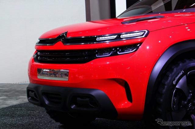 Citroen air stab (Shanghai motor show 15)