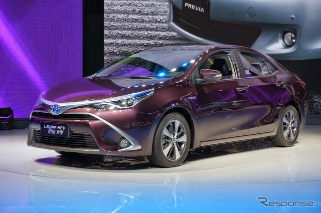 Toyota Levin hybrid (Shanghai motor show 15)