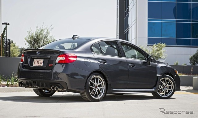 Subaru WRX 2016 models (United States version).