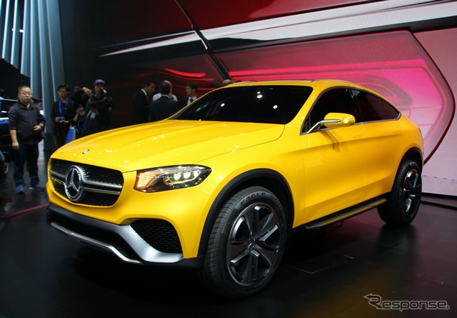 Mercedes-Benz coupe concept of GLC (Shanghai motor show 15)